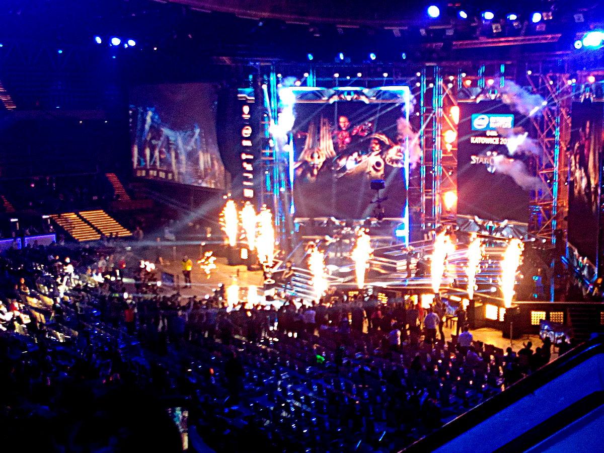 Moment zwycięstwa SoO w finałowym spotkaniu StarCraft II